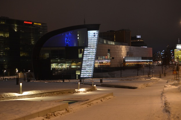 Kiasma early Saturday morning. Photo: Kimmo Virtanen CC-BY 3.0
